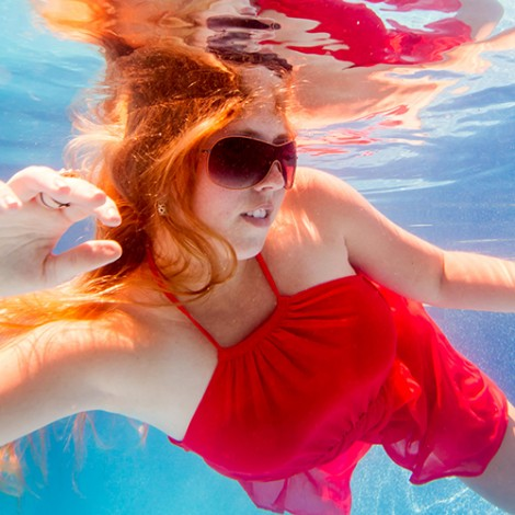 Underwater Fashion, Trash the Dress, High School Seniors